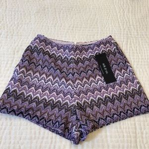 Purple lace shorts! 💜💜